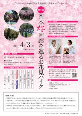第6回お花見ハイク案内チラシ(表).png